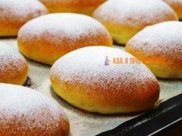 Пирожки или булочки как пух, с ягодами