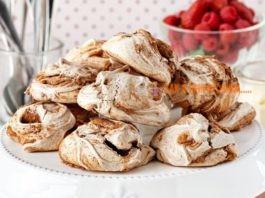 Рецепты безе с орехами и шоколадом