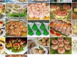 Рецепты оригинальных закусок для праздничного стола