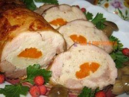 Рулет из курицы «Застольный» — бюджетный деликатес к празднику