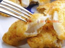 Рыба в кляре: пοшагοвые рецепты и правила пригοтοвления теста