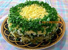 Салат «Грибы под шубой». Невероятно вкусный и красивый