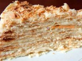 Торт «Наполеон» — наивкуснейший старинный рецепт