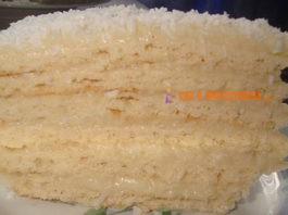 Торт «Рафаэлло»: Мягкий и очень вкусный