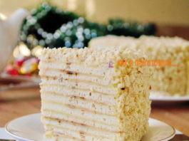 Быстрый торт «Наполеон» на сковороде