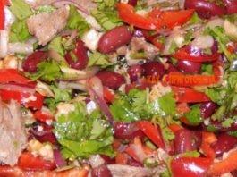 Коронное блюдо моей мамы — салат «Тбилиси»