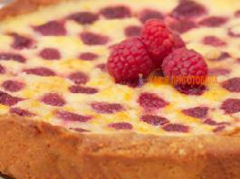Малиновый пирог . По рецепту Марины Цветаевой