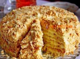 Ну, очень вкусный торт «Светлана». Готовим без выпечки – просто и быстро