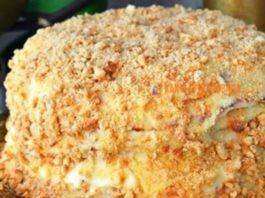 """Обалденный вкусный торт """"Пломбир"""" – и никакая духовка вам не понадобится"""