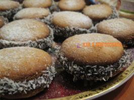 Печенье с шоколадной прослойкой