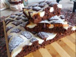 Простой и очень вкусный пирог «Стеганное одеяло» — Идеальная домашняя выпечка