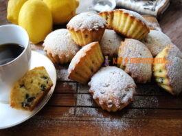 Самые простые лимонные кексы на кефире