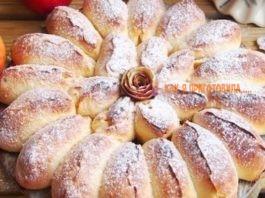 Самый изысканный пирог в мире. Реально отрывной яблочный пирог «Королева Десертов»