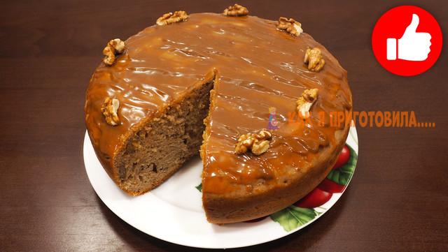 Фото к рецепту: Шоколадный кекс к чаю