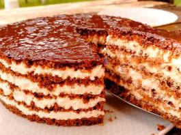 Тающая Загадка. Потрясающий торт без выпечки
