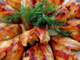 Топ 10 рецептов приготовления куриных крылышек