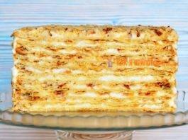 Торт Наполеон. Семейный рецепт