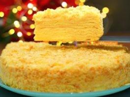 Тот самый торт Наполеон с заварным кремом – нежный мягкий домашний десерт