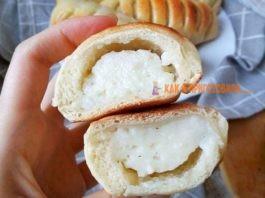Пуховые булочки с заварным кремом