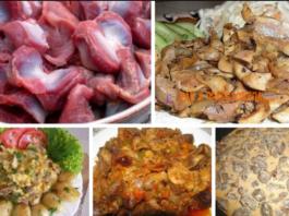 7 рецептов приготовления вкуснейших куриных желудков