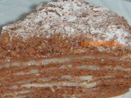 Интересный и вкусный торт «Пчёлка» — пальчики оближешь