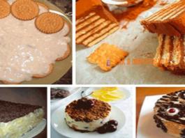 Легкие торты из печенья без выпечки. 5 лучших рецептов