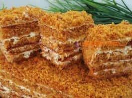 Медовый торт. Как пух