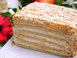 Торт «Молочная девочка» лентяйским способом за 30 минут вместе с выпечкой